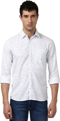 b410942dfe JScottwitchy Men Polka Print Formal White Shirt Best Price in India ...
