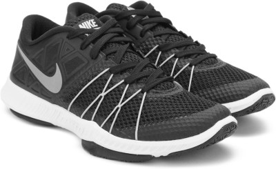 Nike ZOOM TRAIN INCREDIBLY FAST Training Shoes For Men(Black, Silver) 1
