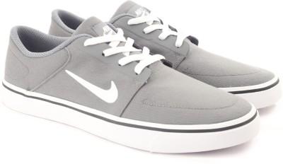 Nike SB PORTMORE CNVS Sneakers For Men(Grey) 1