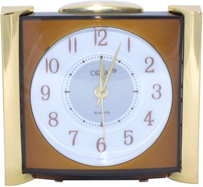 Orpat Analog Brown Clock available at Flipkart for Rs.749