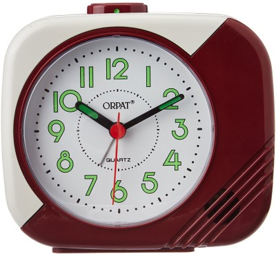 Orpat Analog Brown Clock available at Flipkart for Rs.549