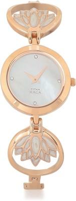 Titan 2540WM01 Raga Analog Watch   For Women Titan Wrist Watches