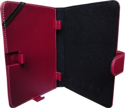 ACM Flip Cover for Hp Pro Slate 8(Brown, Cases with Holder, Artificial Leather)