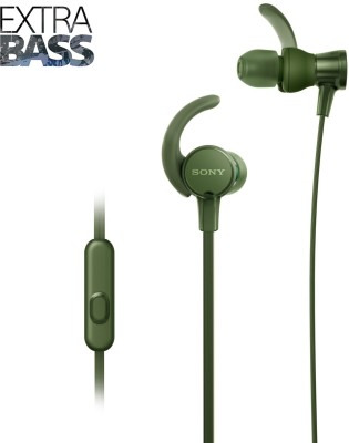 Sony XB510 Wired Headset with Mic(Green, In the Ear) 1