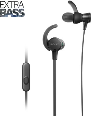 Sony XB510 Wired Headset with Mic(Black, In the Ear) 1