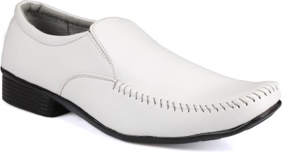 Xtreme Mens White Formal Shoes Lace Up For Men(White)  available at flipkart for Rs.349