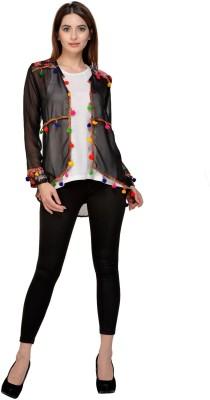 Raabta Fashion Women No Closure Solid Cardigan
