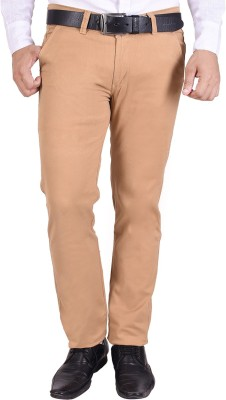 Nation Polo Club Slim Fit Men's Gold Trousers