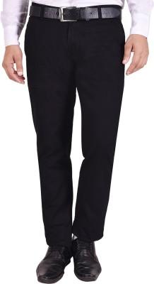 Nation Polo Club Slim Fit Men's Black Trousers