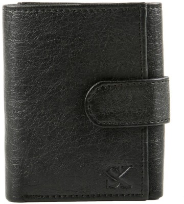 Styler King Men Black Artificial Leather Wallet 4 Card Slots