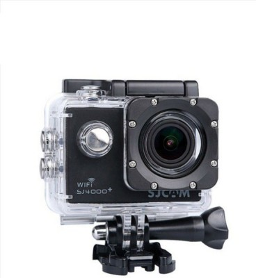 View SJCAM SJ4000+ Wifi 2K Gyro Sports Action Camera Wifi Sports & Action Camera(Black) Price Online(SJCAM)