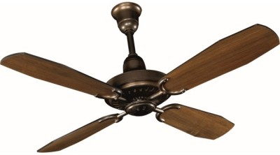 Crompton Prudence 1200 mm 4 Blade Ceiling Fan(Antique Bronze, Pack of 1)
