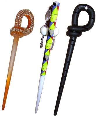 Takspin combo of juda sticks Bun Stick(Multicolor)