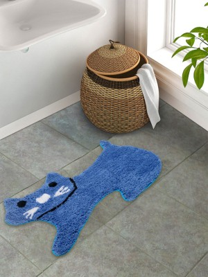 S9 Home By Seasons Cotton Baby Play Mat(Blue, Large)