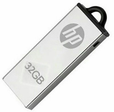 HP 220w 32 GB Pen Drive(Silver, Grey)