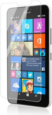 BIZBEEtech Tempered Glass Guard for microsoft Lumia 640 XL(Pack of 1)