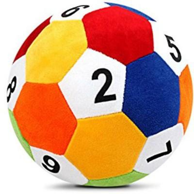 SANA TOYS Sana Baby Soft Ball 12345 cm 20   20 cm Multicolor SANA TOYS Soft Toys