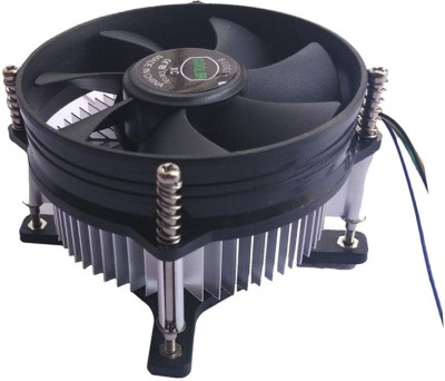 Terabyte  TV-out Cable CPU fan Cooler and heat-Sink Cooling Fan(Black, For Computer)  available at flipkart for Rs.289