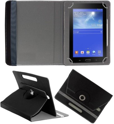 Fastway Book Cover for I Kall N9 7 inch Tablet(Black, Cases with Holder)