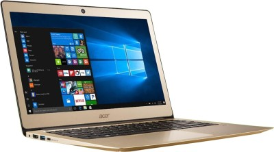 Acer Swift 3 Core i7 7th Gen - (8 GB/256 GB SSD/Windows 10 Home) SF314-51 Thin and Light Laptop(14 inch, Rose Gold, 1.5 kg) at flipkart