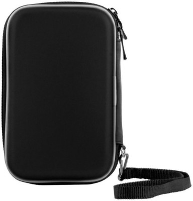 AutoKraftZ Hard disk Case 3.5 inch Leather(For External Hard drive, External Hard disk, Black)