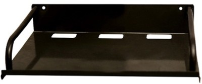 Gadget Deals Set Top Box,Router Stand Iron Wall Shelf(Number of Shelves - 1, Black)