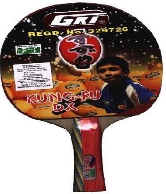 GKI Kung FU DX Black Table Tennis Racquet(Weight - 86 g)  available at flipkart for Rs.775