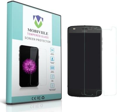 MOBIVIILE Tempered Glass Guard for Motorola Moto Z2 Play, Motorola Moto Z Play (2nd Generation)(Pack of 1)
