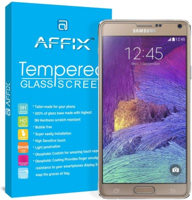 "Affix Tempered Glass Guard for Samsung Galaxy Note 4 (5.7"" Inch Display)(Pack of 1)"