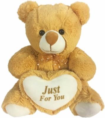 SANA TOYS Sana Heart Bear Just for you Beige colour cm 40   40 cm Beige SANA TOYS Soft Toys