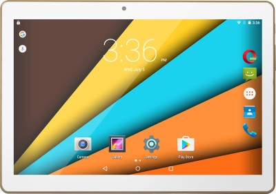 View Swipe Slate Plus 16 GB 10 inch with Wi-Fi+3G(Champagne Gold) Tablet Note Price Online(Swipe)