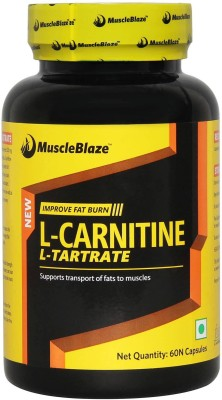 MuscleBlaze L-Carnitine L-Tartrate Capsules (60 PCS)