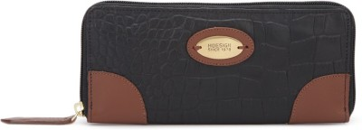 Hidesign Casual Tan, Black  Clutch