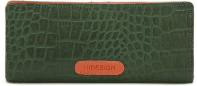 Hidesign Casual Green  Clutch