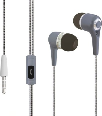 SoundPeats B10 3.5mm Headphones In-ear Wired Earphones Earbuds Headphone(Black, In the Ear)