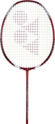 Yonex Voltric Taufilk 10 Red, White Strung Badminton Racquet(G4 -3.25 Inches, 85 g) at flipkart