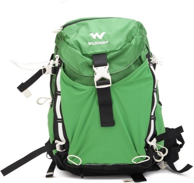 Wildcraft Vapra 24 Rucksack  - 20 L(Green) at flipkart