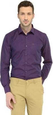 LA Seven Men's Solid Party Slim Shirt
