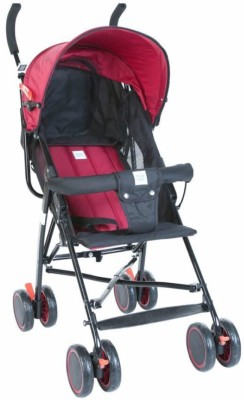 MeeMee Baby Stroller Stroller(3, Maroon, Black)