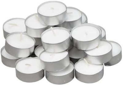 Lovato light candle Candle(White, Pack of 100)