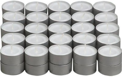 Lovato light candle Candle(White, Pack of 50) at flipkart