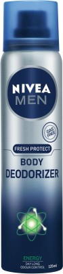 Nivea Men Fresh Protect Body Deodorizer Energy - 120 ml