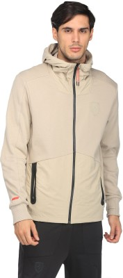 Puma Full Sleeve Solid Men Sports  Jacket at flipkart