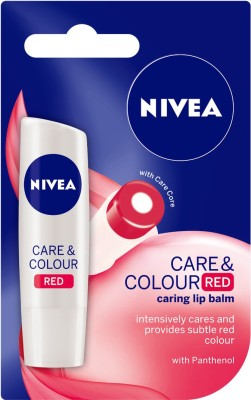 Nivea Care and Color Lip Balm Natural(Pack of: 1, 4.8 g)