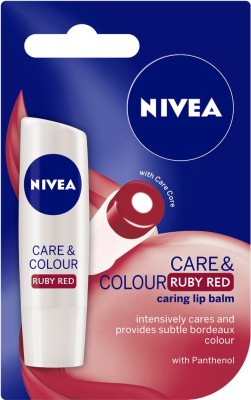 Nivea Care and Color Ruby Red(4.8 g)