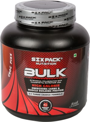 Six Pack Nutrition Bulk Weight Gainer (2Kg / 4.4lbs, Choco)