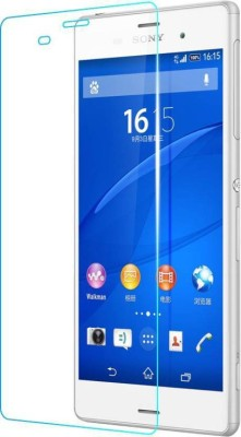 Bizone Tempered Glass Guard for SONY XPERIA M5 Dual(Pack of 1)