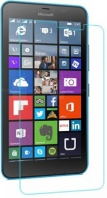 EASYBIZZ Tempered Glass Guard for Microsoft Lumia 640 XL(Pack of 1)