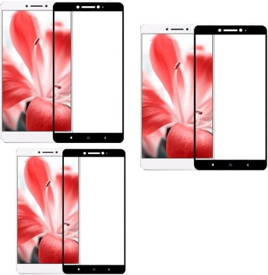Mocell Tempered Glass Guard for Lenovo K6 Note(Pack of 3)