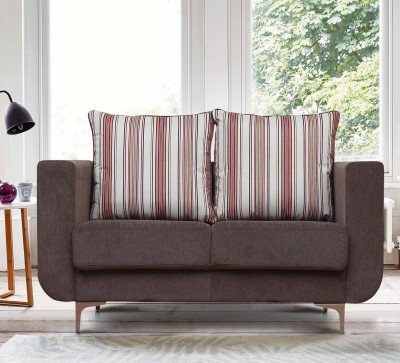 Peachtree Fabric 2 Seater  Sofa(Finish Color - Grey)